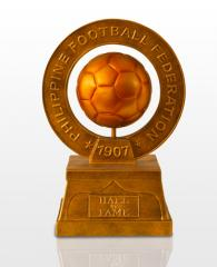 Trophy awards football