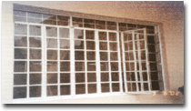 Steel window casement