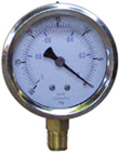 Oil Filled Vacuum Gauge Part Number: 01-501-01-02