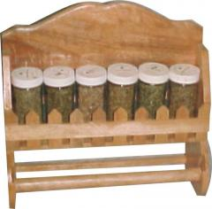 Spice Rack with Towel Holder