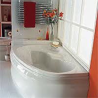 Acrylic bath. White.