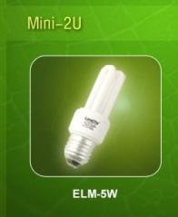 Compact Fluorescent Lamp 2U.