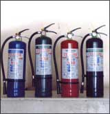 Fire extinguishers, portable