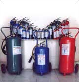 Chemical fire extinguisher suhschy