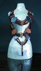 Beads of semiprecious stones