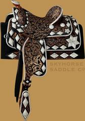 Fleisher Mordo Ranch Saddle -