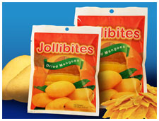 Jollibites Dried Mangoes
