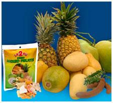 LA2PU Dried Mixed Fruits