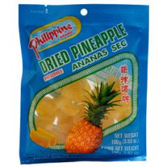 Philippine dried pineapple