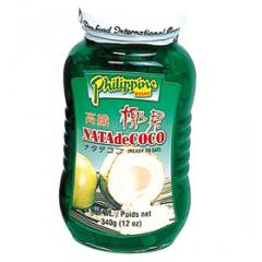 Philippine natural coconut gel