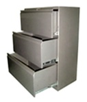 Storage cabinet papers.