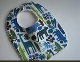 Printed Cotton & Terry Cotton Bib