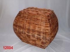 Wicker  basket.