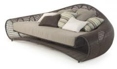 Sofa wicker garden