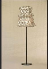 Lamp handmade braided