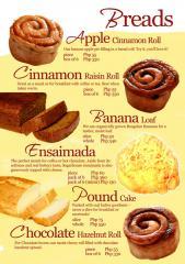 Yeast bread delicious.