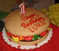 Festive Cake for children.