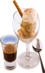 Cocktail Ice Cream Tiramisu Twist