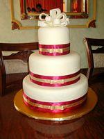 Large wedding cake ..