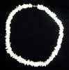 White Rose Shell Necklaces