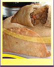 Pie filling Empanada
