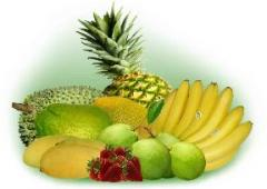 Fresh exotic fruits