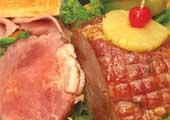 Pineapple Ball Ham (sliced)