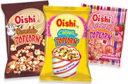 Popcorn is sweet