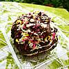 Caramel Chocolate Devil's Peak Rice Crispy Treats