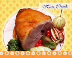 Ham Chunk Smoked.
