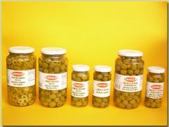 Green Sliced Olives