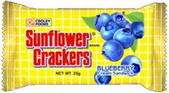 Sunflower Blueberry Cream Sandwich
