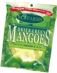 Ecj farms dried green mangoes