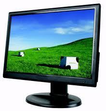 "Power Logic 18.5"" LCD Monitor"
