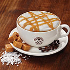 Salted Caramel Infused Cappuccino