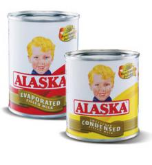 Alaska Evaporated Filled Milk