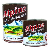 Alpine Evaporated Milk