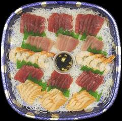 44 piece Sashimi Platter