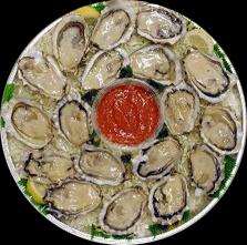 Oyster Platter serves 6-8 people