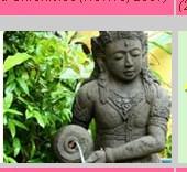 Making Garden Stone Statue
