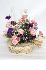 Creating Exquisite Arrangements of Tropical Flora.
