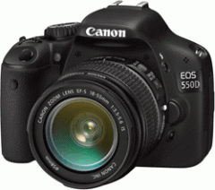 Canon EOS 550D 18MP SLR Camera Bundle EF18-200IS