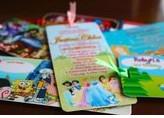 PVC Bookmark Invites