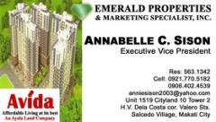 Business cards (laminated)