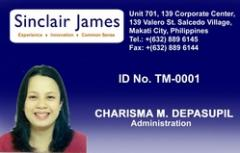 ID cards (PVC plastic type, price of at least 3