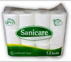 Tissue Paper 2 PLY, Sanicare