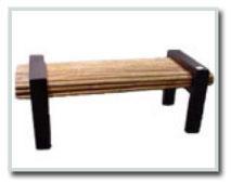 Bamboo Garden Bench