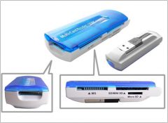 USB type All-in-one card Reader (4 ports)