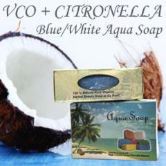 Blue/White Aqua Soap