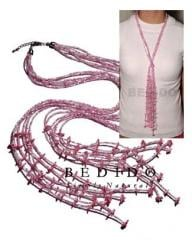 Ethnic scarf necklace